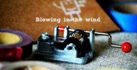 Blowing in the wind c