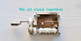 We all stand together