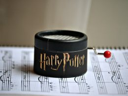 Mini Caja de Música de Harry Potter Mini cajas de música